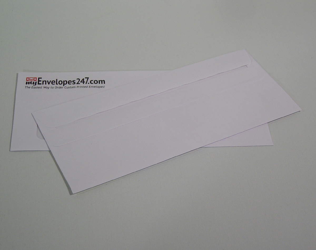 #10 Window Simple Seal Envelope