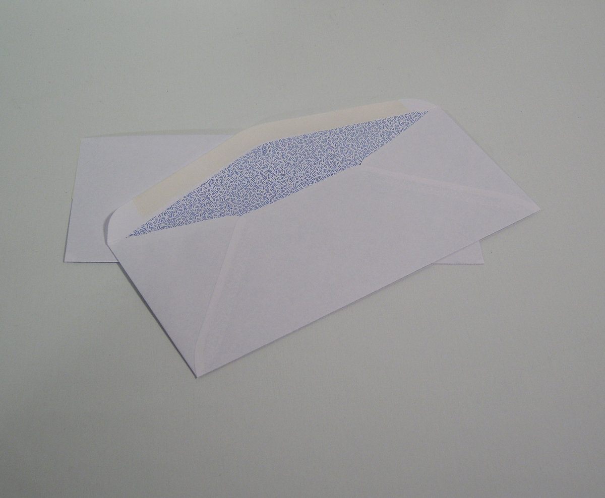 #6 3/4 Regular Security Tinted Envelope