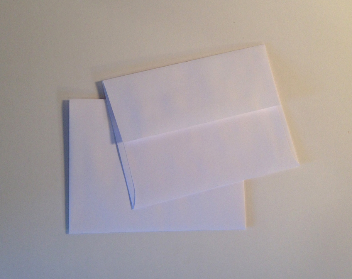 A-2 Announcement Envelope