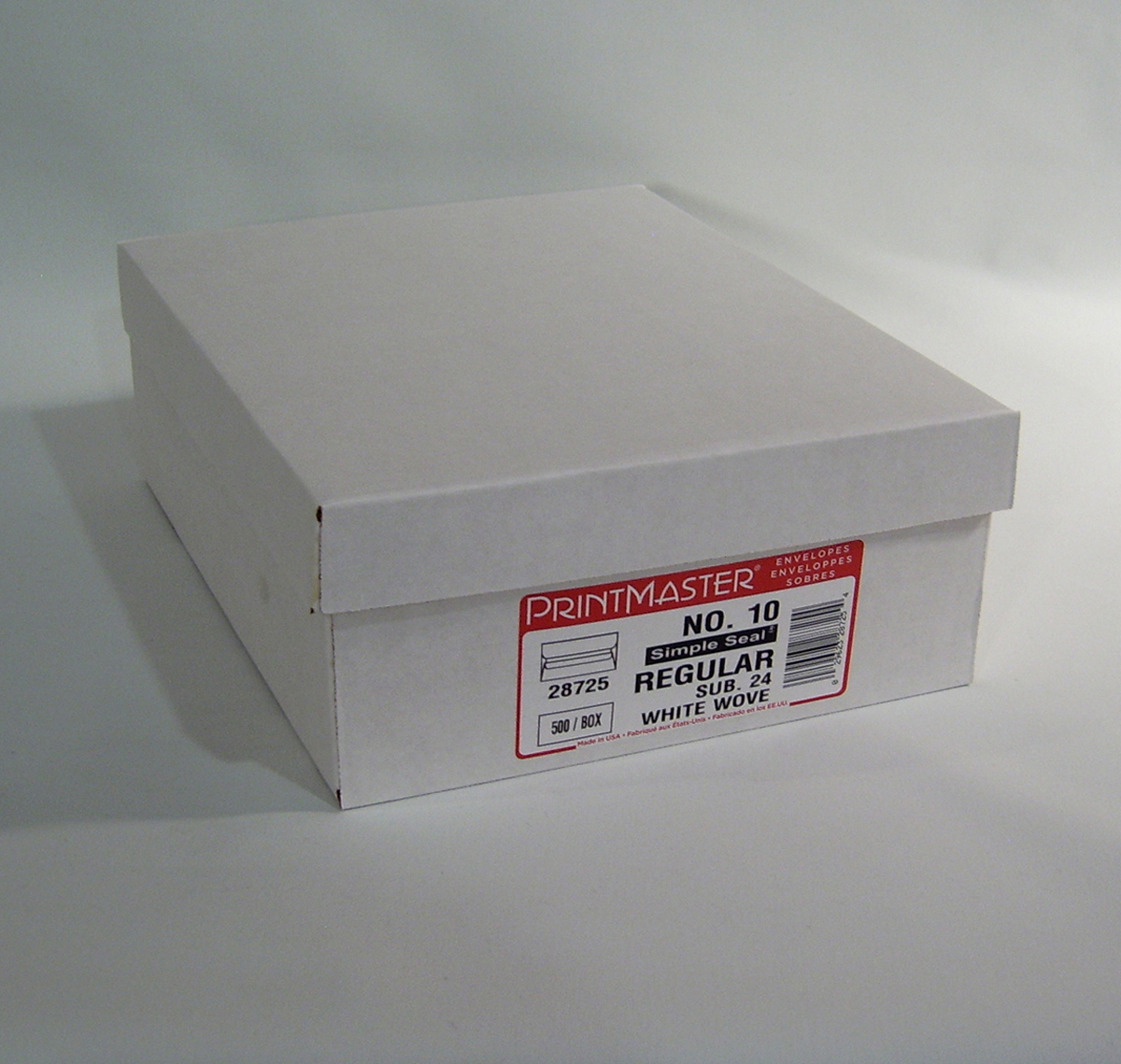 #10 Regular Simple seal Envelope Box